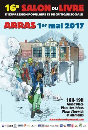 Affiche salon-livre Arras 2017
