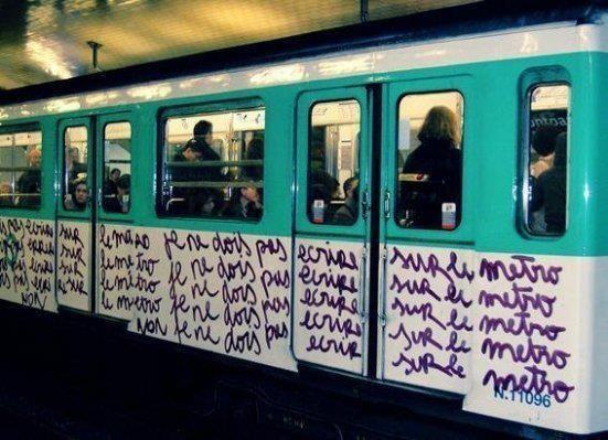 La punition dans le métro last-concept.com