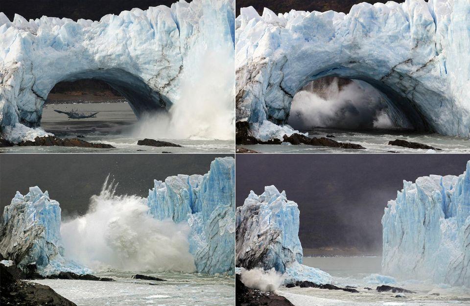 Rupture Perito Moreno mars 2016